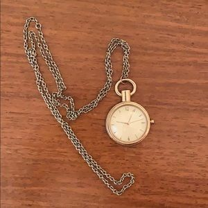 Timepiece Long Accent Necklace